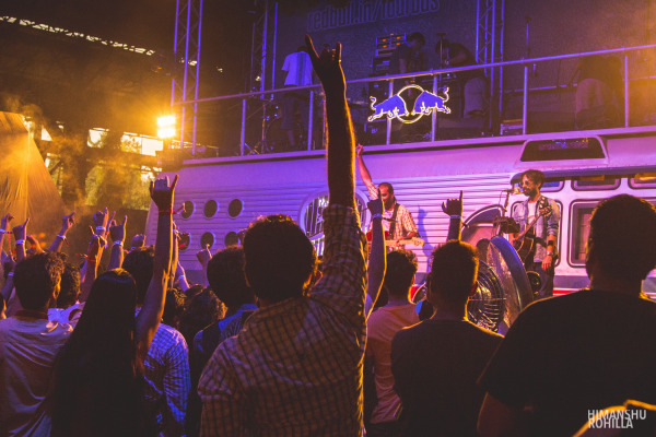 Ankur Tiwari & Sidd Coutto, India @ Red Bull Tour Bus #OffTheRoof