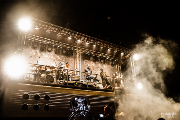 Bhayanak Maut, India @ Red Bull Tour Bus #OffTheRoof