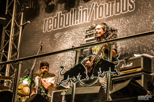 Pentagram @ Red Bull Tour Bus #OffTheRoof
