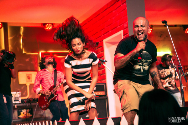 Pentagram with Monica Dogra @ Pepsi MTV Indies Launch Party
