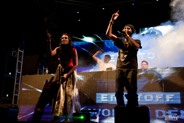 The Midival Punditz feat. Monica Dogra & Humble the Poet, India @ NH7 Weekender Pune 2011