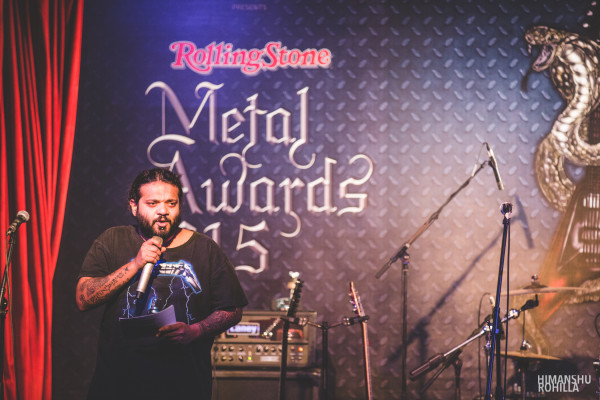 P-Man @ Rolling Stone Metal Awards 2015